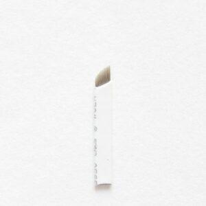 12 Sloped Microblading Needle (10 pcs)