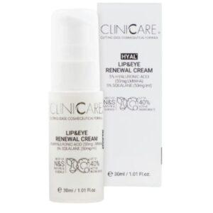CLINICCARE HYAL+ Lip & Eye Renewal Cream 30ml